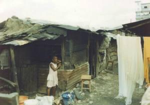 Shack in the Kibera Slums of Nairobi, Kenya