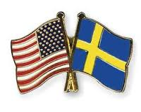 Flag of Sweden and the United States