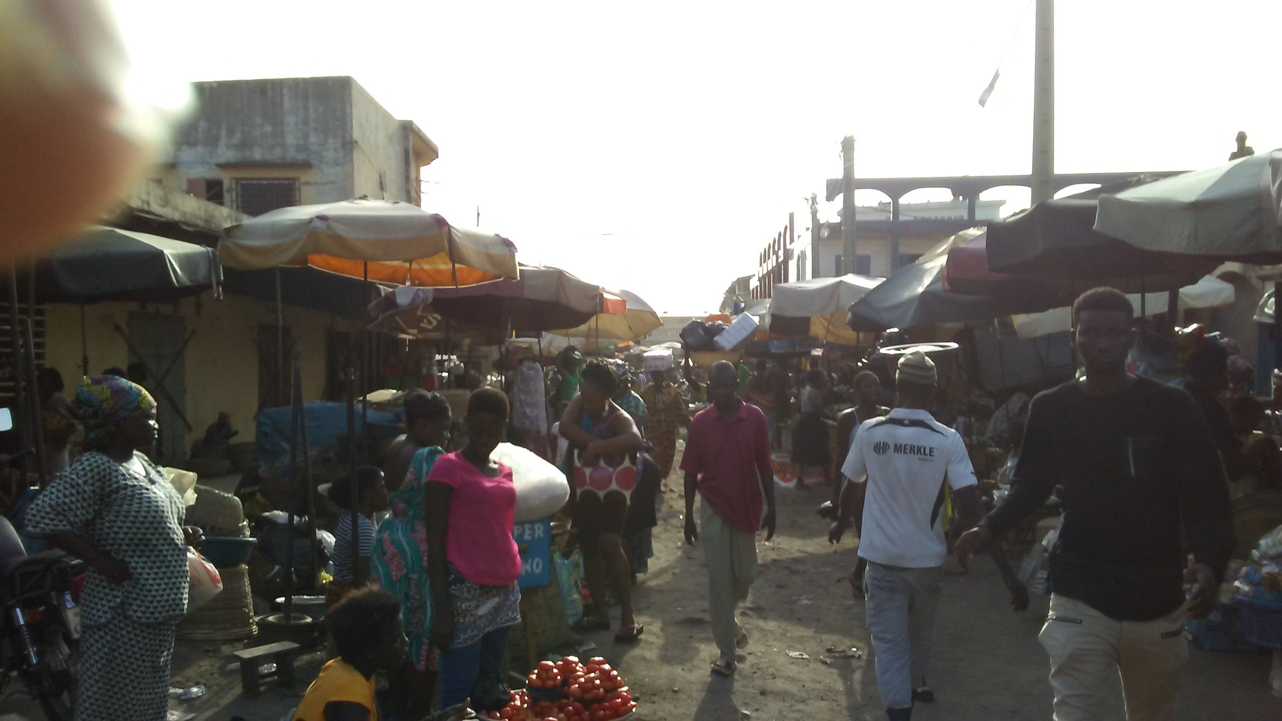 Assigame Grand Marché Lomé Togo