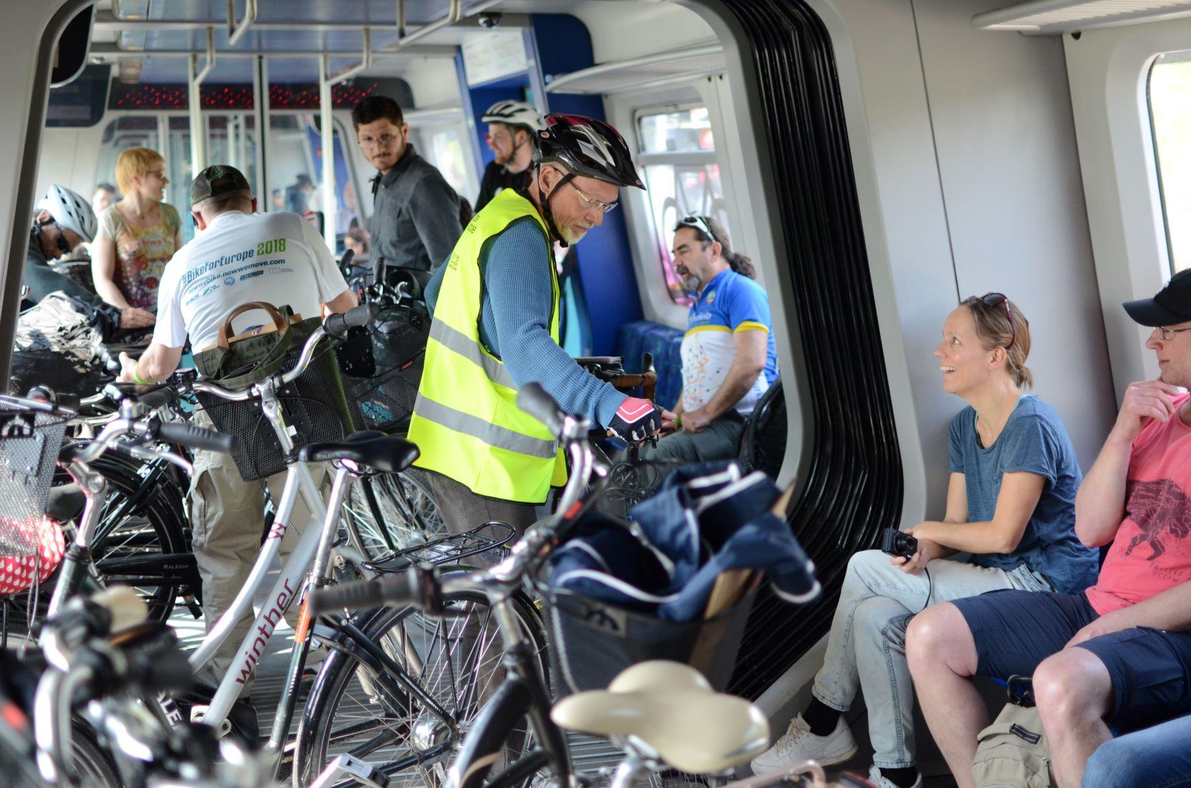Trem passageiros Dinamarca