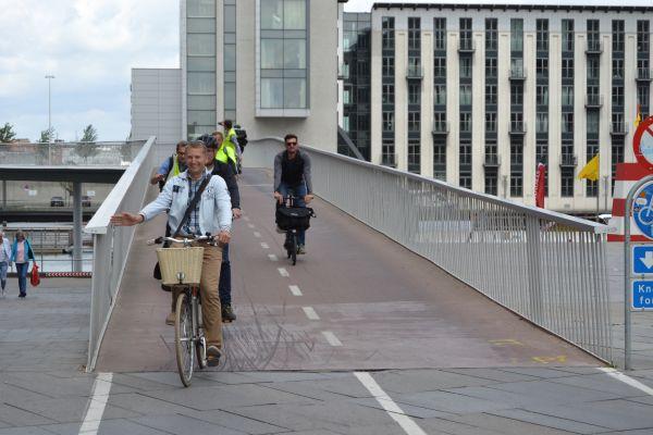 Ponte de bicicleta dinamarquesa