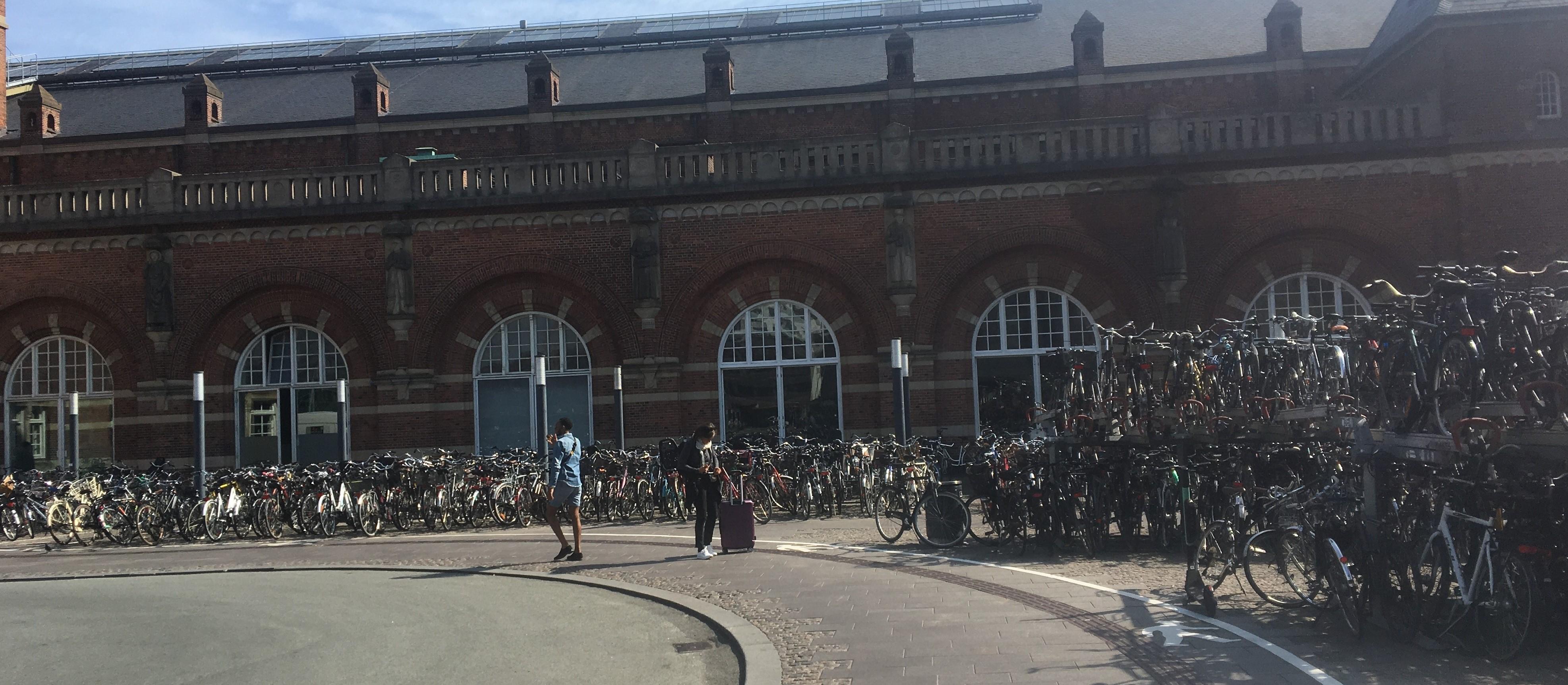 Estação central de Copenhagen