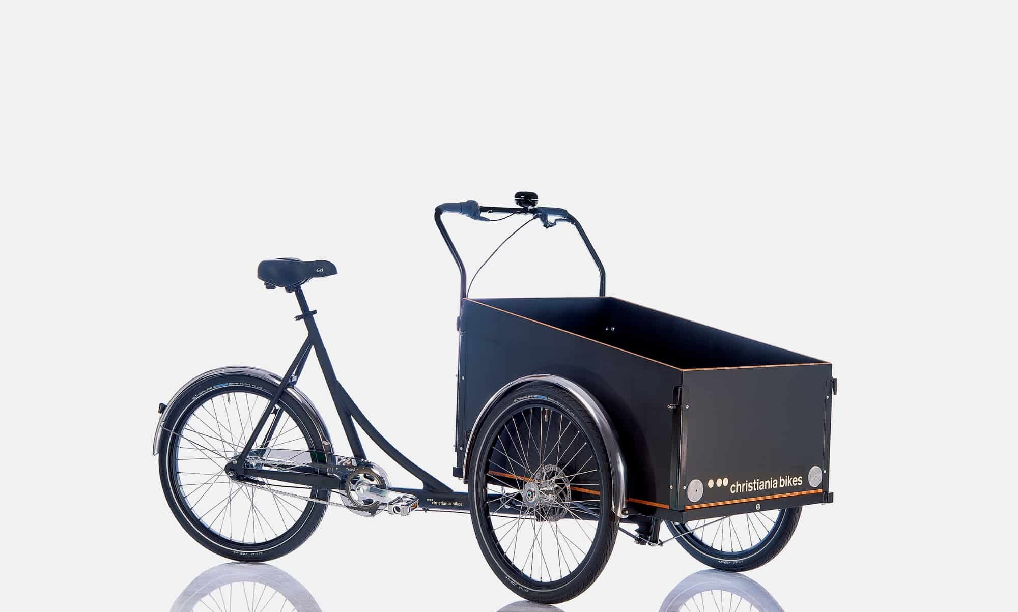 Cargo bike frontal dinamarquesa